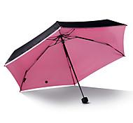Candy Color Inside Sunny And Rainy Umbrella