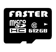 clase 512gb / 256gb 10 micro sd tf tarjeta de memoria flash con adaptador SD y de múltiples funciones del lector de tarjetas USB OTG