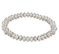 Women Alloy Silver  Chain Bracelets