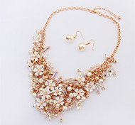 New Fashion European And American Jewelry Sets / Necklace / Earrings