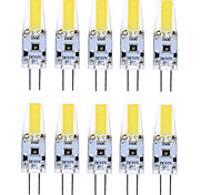 10PCS G4 1505 COB 400-500LM Warm White/Cool White/Natural White Decorative / Waterproof DC12V  LED Bi-pin Lights