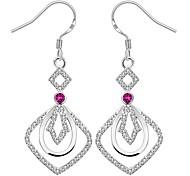 Women's Gorgeous Elegant 925 Silver Plated Earrings
