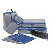 Travel Waterproof 7 Pieces Of Clothing Storage Bag.