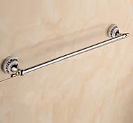 Barra para Toalha / Cromado / De Parede /62*7*6.5cm /Aço Inoxidável / Liga de Zinco /Contemporâneo /62cm 7cm 0.47