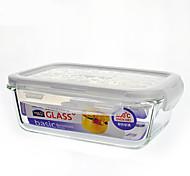 LOCK&LOCK 1/set Kitchen Kitchen Glass Lunch Box 180*68*130mm LLG431