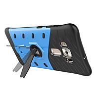 Кейс на заднюю панель Ударопрочный / с подставкой броня PC жесткий Для крышки случая Huawei Huawei P8 Lite / Huawei Honor 5C