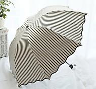 Ombrelle pliable Ensoleillé et Rainy Métallique / Plastic