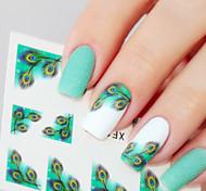 1 Стикер искусства ногтя макияж Косметические Ногтевой дизайн