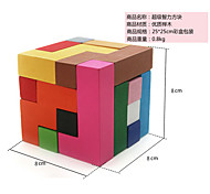 / Smooth Speed Cube Magic Board / Magic Cube Rainbow Wood