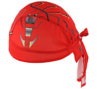 Bandana Bike Breathable Limits Bacteria Sweat-wicking Sunscreen Unisex Red Terylene