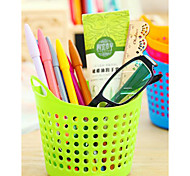 Portable Mini Desktop Use Plastic Receive Basket Sundry Receive Basket Household Storage Basket