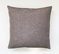 Wrinkled pure color cushion cover-Grey