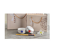 Ceramic Bowl Bowl Bone China Pattern  Tableware Ceramics Tableware Suit Custom