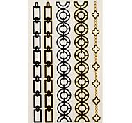 1 Tatuajes Adhesivos Series de Joya bracelet flash de tatuaje Los tatuajes temporales