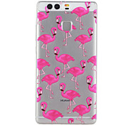 Bird Pattern Material TPU Phone Case For Huawei P9 P9 Lite