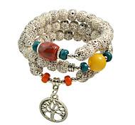 Bohemian Style Elastic Beads  Bracelets