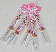 Pen gel Caneta Recargas Caneta,Plástico Barril Azul cores de tinta For material escolar Material de escritório Pacote de