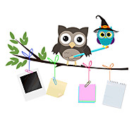 Wall Stickers Wall Decals Style Creative Owl Painting PVC Wall Stickers