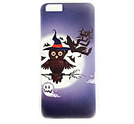 Halloween 02  Shockproof / Embossed / Pattern Skull TPU Soft Case Cover For Apple iPhone 7 7 Plus 6s 6 Plus SE 5s 5