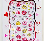 1 Nail Art Sticker Adesivi 3D unghie makeup Cosmetic Nail Art Design