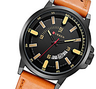 CURREN® watch men relogio masculino military watch sports waterproof leather mens watch quartz watch wristwatch
