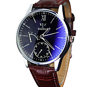 YAZOLE® Men's Quartz Casual Fashion Watch Simple Business Classic Round Alloy Dial Watch Cool Watch Unique Watch