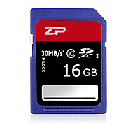 ZP 16GB Classe 10 SD/SDHC/SDXCMax Read Speed80 (MB/S)Max Write Speed20 (MB/S)