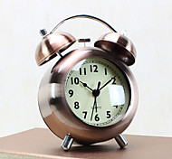 Alarm Clock with Matel Case Modern Style