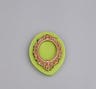 Зеркало формы фондант торт шоколад силикон формы украшения инструменты выпечка цвет случайный