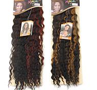 1pc libertad pelo noble de oro 26 mejores extensiones de pelo sintético de alta calidad de temperatura