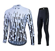 Spring Autumn  Long Sleeve Bike Cycling Jersey Sets Breathable Gel Padded Bicycle Sportswear Cycling Clothings