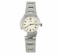 CASIO LTP Series Classic Female Watches  Fashion Quartz Steel Watch LTP-1241D-7A2