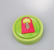 Мешки формы силиконовой помадной формы плесень формы плесени силиконовые помадной формы украшения украшения цвет случайный