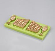 Оптовая дверь сказочного замка& Оконная силиконовая форма для помадного торта шоколадная конфета выпечка цветной случайный