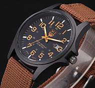 Hombre / Mujer / Niño Reloj Deportivo / Reloj Militar / Reloj de Vestir / Reloj de Pulsera Cuarzo Noctilucente Tejido BandaCosecha /