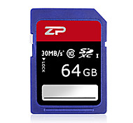 ZP 64GB Classe 10 SD/SDHC/SDXCMax Read Speed80 (MB/S)Max Write Speed20 (MB/S)
