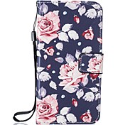 Flower PU Leather Wallet for Huawei P8Lite P9 P9Lite