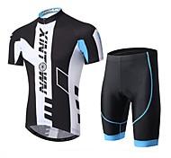 XINTOWN Men Short Sleeve Breathable Cycling Jersey & Shorts Set Outdoor Sports Wear S-XXXL