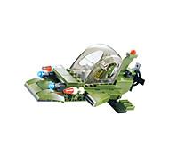Bloques de Construcción Para regalo Bloques de Construcción Modelismo y Construcción De Combate Plástico Por encima de 6 Verde / Gris