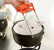 1 Cucina creativa Gadget Acciaio inossidabile Pinze