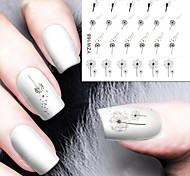 DIY Designer Water Transfer Nails Art Sticker / Nail Water Decals / Nail Stickers Accessories