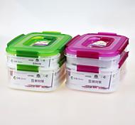 marque yooyee cadeau promotionnel de qualité alimentaire pp en plastique contenant alimentaire empilable avec couvercle