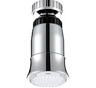 LED torneira / circular de controle de temperatura de três cor mudança de temperatura torneira (galvanoplastia de cobre)
