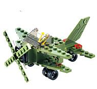 Bloques de Construcción Para regalo Bloques de Construcción Modelismo y Construcción De Combate Plástico Por encima de 6 Verde Juguetes