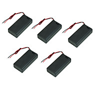 Festival On the 25th Battery Compartment Lid With Switch With Red And Black Wire Battery Holder Battery Slot