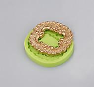 Promoção de vendas quadrado bolo de silicone moldar ferramentas de decoração handmade sabão cor do molde aleatória
