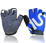 Fitness Gloves Riding Cycling Equipment Silicone Non-slip Device Sports Gloves Half Finger For Men and Women 1 Pair