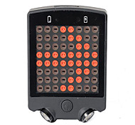 Bike Lights LED LED Cycling Remote Control Rechargeable Compact Size Emergency Lithium Battery 50~100 Lumens Battery USB