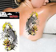 5pcs Tatuajes Adhesivos Otros Non Toxic / WaterproofMujer / Hombre / Adulto / Juventud flash de tatuaje Los tatuajes temporales