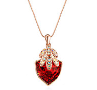 New Arrival 2016 Trendy Necklaces Triangle Palm Crystal Jewelry Necklace Pendant Vintage Long Necklace For Women Gift